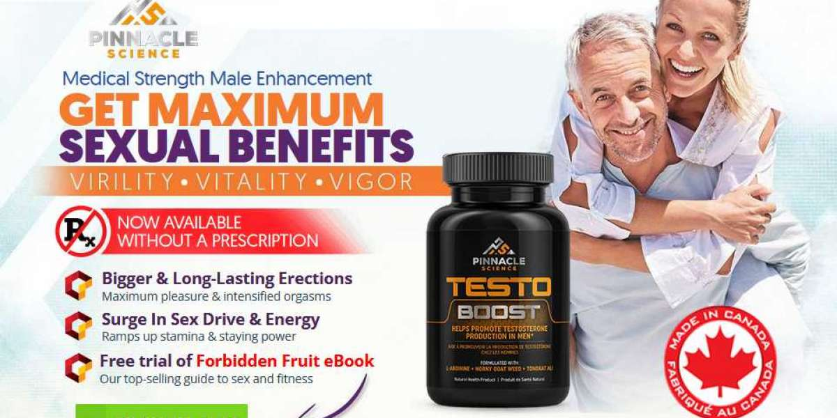 Pinnacle Science Testo Boost® | World #1 Supplement |Does It Really Works?